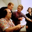 Josh Kornbluth, Brian Thorstenson, Amy Resnick and Helen Shumaker in Sony Pictures Classics' Haiku Tunnel - 2001 - 400 x 286