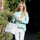 Ashley Tisdale: left Andy Lecompte Salon in Los Angeles