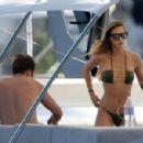 Ann-Kathrin Brommel – Hot in a bikini while on a yacht in Mallorca - 454 x 299