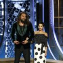 Jason Momoa and Zoe Kravitz At The 77th Golden Globe Awards (2020) - 400 x 600
