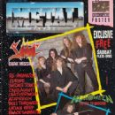 Sabbat - Metal Forces Magazine Cover [United Kingdom] (May 1989)