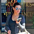 Mila Kunis Leaving Starbucks, October 3 2009