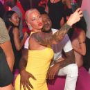Amber Rose and Terrence Ross - 454 x 604