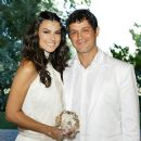 Alejandro Sanz and Raquel Pereda