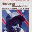 Sandy Koufax - Sports Illustrated Magazine Cover [United States] (20 December 1965)