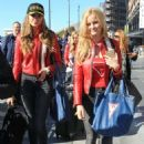 Simone Holtznagel Danielle Knudson and Natalie Pack Guess Teams With Gumball 3000 For A Sultry Campaign