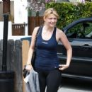 Mischa Barton - The Gym In Hollywood, April 12 2010