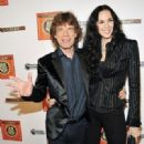 Mick Jagger and L'Wren Scott at the SuperHeavy Celebrate Their Album Release With Huge Bash