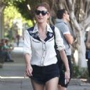 Kate Walsh Out and About In La