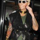 Amber Rose arrives at DSTRKT Nightclub in London, England - April 21, 2015