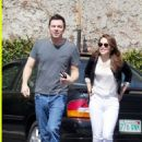Seth MacFarlane and Emilia Clarke Brunch At Mel's Diner in Los Angeles, 9/25/12