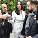 Monica Bellucci – Arriving at Vivement Dimanche TV show in Paris - 454 x 691