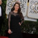 Mayim Bialik - The 71st Annual Golden Globes - Arrivals (2014)