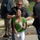 Tia Texada On The Set Of Criminal Minds 2008-03-31
