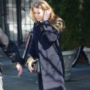 Amber Heard out in NYC (February 14)