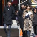 Alexa Chung & Alexander Skarsgard Out And About In NYC ( March 23, 2017) - 454 x 564