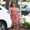 Eva Mendes Out and About In La