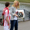 Liz McClarnon - Hosts A Sport Relief Warm-up Walk In Liverpool, 13 March 2010