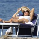 Sofia Vergara - Bikini On Beach In Ischia, Italy, July 12, 2010