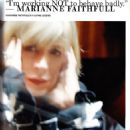 Marianne Faithfull - i-D Magazine Pictorial [United Kingdom] (April 2009) - 454 x 622