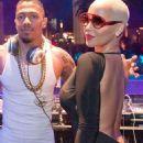 Amber Rose at Drais Nightclub in Las Vegas