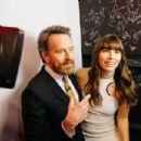 Bryan Cranston and Jessica Biel  at 'The Late Late Show with James Corden' (January 2017) - 454 x 303