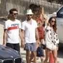 Alicia Vikander on the beach in Ibiza - July 13, 2017