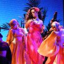 Rihanna At The 60th Annual GRAMMY Awards - Show - 453 x 600