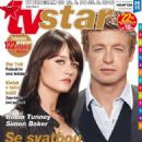 Robin Tunney, Simon Baker - TV Star Magazine Cover [Czech Republic] (12 August 2016)