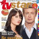 Robin Tunney, Simon Baker - TV Star Magazine Cover [Czech Republic] (12 August 2016)