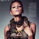 Anja Rubik Vogue Paris February 2010 - 454 x 591