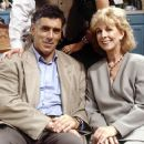 Christina Pickles and Elliott Gould