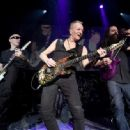 Phil Collen performs as part of the G3 concert tour at Brooklyn Bowl Las Vegas at The Linq Promenade on January 17, 2018 in Las Vegas, Nevada - 454 x 334