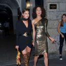 Irina Shayk at Milan Fashion Week in Milan