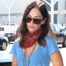 Megan Fox – Arriving at LAX Airport in Los Angeles