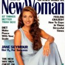 Jane Seymour - New Woman Magazine Cover [United States] (February 1994)