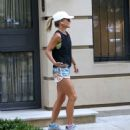 Kelly Ripa in Shorts – Going for a jog in NYC - 454 x 495