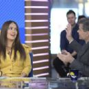 Salma Hayek at Good Morning America in New York