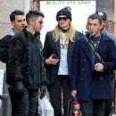 Sophie Turner, Joe and Nick Jonas – Out in New York