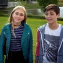 Emily Skinner and Asher Angel