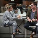 Chris Hemsworth and Elsa Pataky– Grabbing a Coffee and a Pastry at Gail's Bakery in London, September 2018