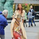 Joan Smalls – Doing a photoshoot in New York - 454 x 578