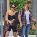 Nikki Bella and fiance Artem Chigvintsev – Visit a personal trainer in Beverly Hills - 454 x 627