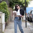 Daisy Lowe in Jeans – Out in London - 454 x 595