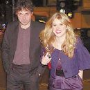 Alice Eve and Rufus Sewell