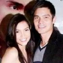 Dingdong Dantes and Rhian Ramos