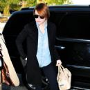 Emma Stone was seen arriving at Los Angeles International Airport today, February 3