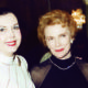 ANN MILLER accompanies JOAN LESLIE to a CHARITY EVENT in LONDON.  DECEMBER 1999