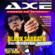 Tony Iommi - Axe Guitar Magazine Cover [Italy] (November 2015)