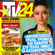 Nurgül Yesilçay - TV 24 Magazine Cover [Greece] (14 January 2012)